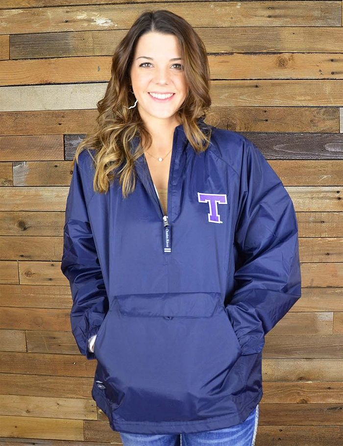 Cheer on your favorite Tarleton Texan team in any weather with these wind and water resistant pull-over! Go TSU!
