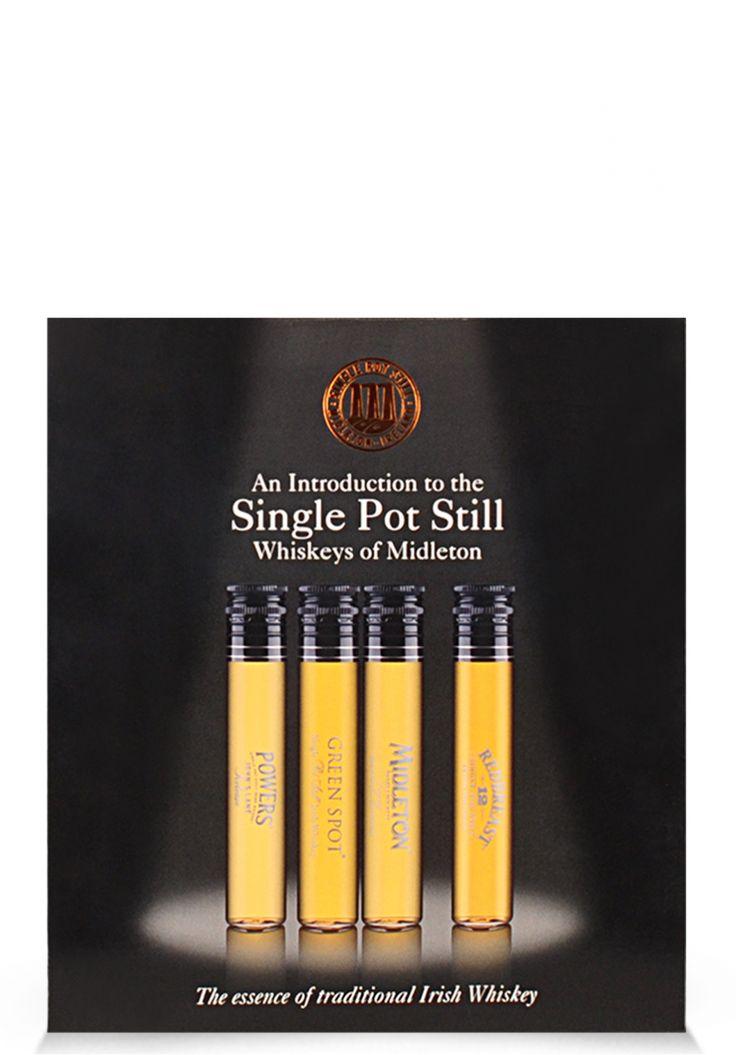 "SINGLE POT STILL, ""Whiskys of Midleton"", (4 x 50ml) - SmartDrinks.ro"