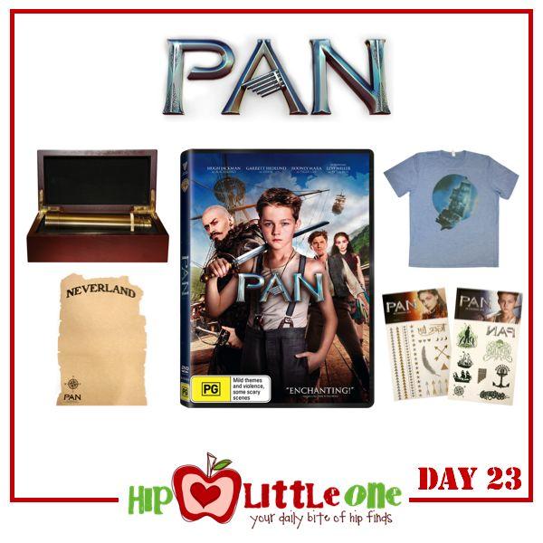 Win 1 of 3 $109 'Pan' Prize Packs