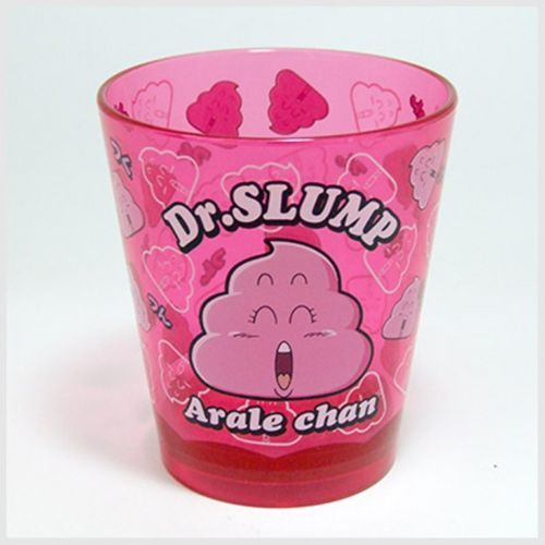 RARE-PLASTIC-CUP-GOBELET-EN-PLASTIQUE-Dr-SLUMP-MANGA-ANIME-KAWAII-DRAGON-BALL