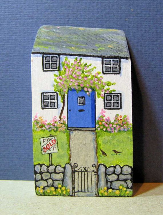 Rosa Cottage by jamjarart on Etsy by Joy Williams.