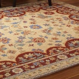 Delicieux Patterned After A Country French Style, This Rug Is 100% Wool, With A