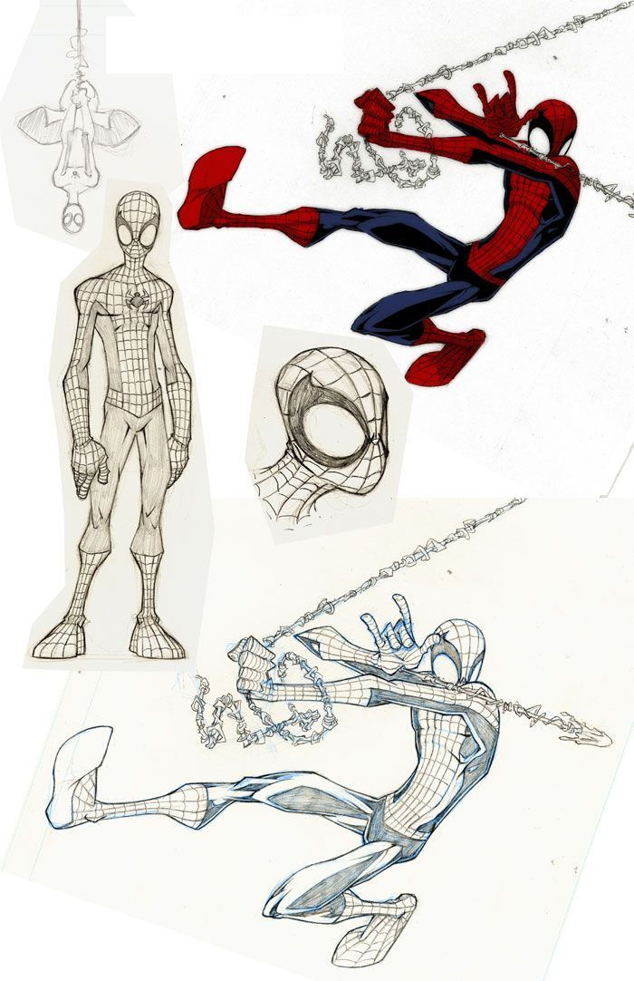 Skottie Young - Spider-man//Skottie Young/X - Y - Z/ Comic Art Community GALLERY OF COMIC ART