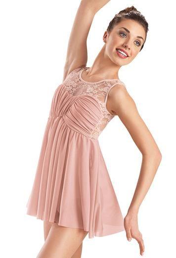 Lace Empire Waist Dress - Balera
