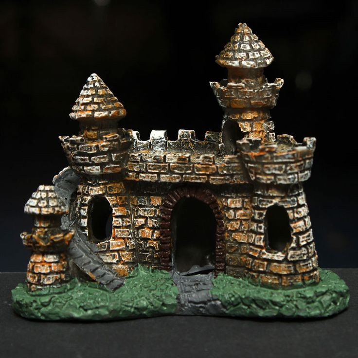 1000 images about aquariums decor castles medievil on for Tower fish tank