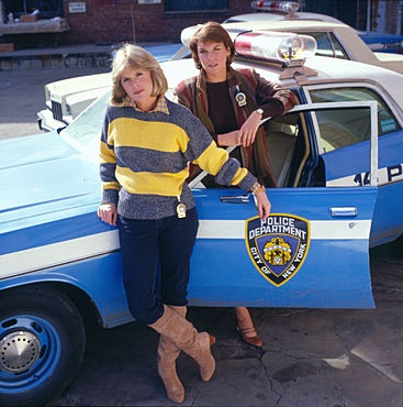 Detectives Christine Cagney and Mary Beth Lacey - Cagney & Lacey (Sharon Gless and Tyne Daly)