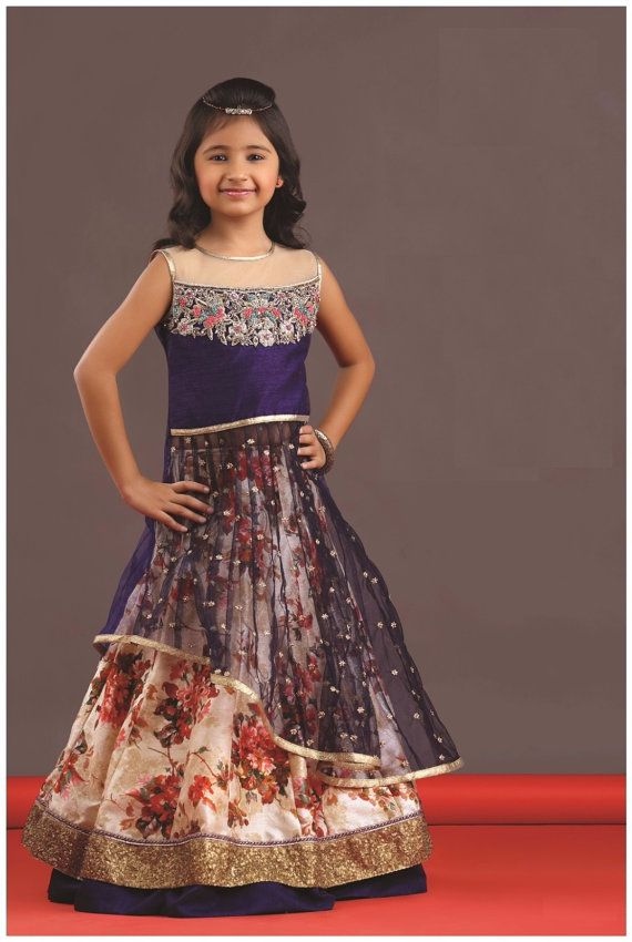 d06cb5202 Kids girls Indian Pakistani Asian Ethnic by Varshinicollections ...