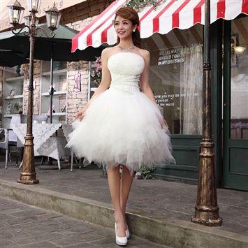 Veegol™  2014 New Style Dresses Short Wedding Dress