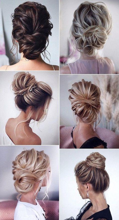 Hochzeit Frisuren Hochsteckfrisuren und Haare, mit Schleier, mit Blumen Braut Haar, lange …   – Things I love
