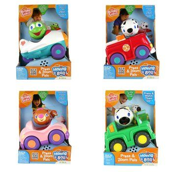 Bright Starts Press & Zoom Pals