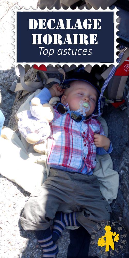 Bien gérer le décalage horaire lors d'un voyage avec ses enfants. #voyage #famille #décalagehoraire