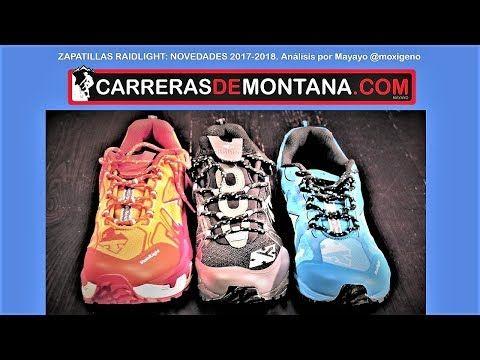(1) Zapatillas Raidlight trail 2018:  Nuevas RL004-3 ; Ultramax Evo y  Dynamic Ultralight - YouTube