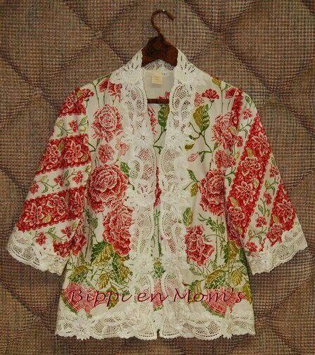 Floral batik