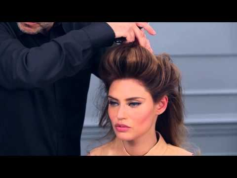 Tutorial capelli: come fare lo chignon cotonato - YouTube