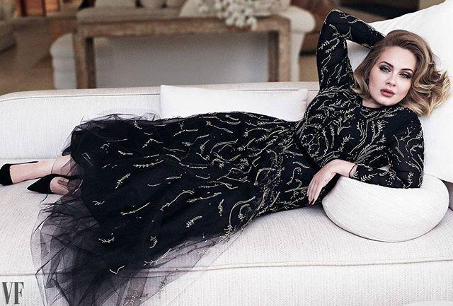 ❤Adele @Adele photographed by Tom Munro @tommunrostudio for Vanity Fair @vanityfair December 2016 Styled by Gaelle Paul @gaellepaul Directed by Jessica Diehl  #Adele #Adelettes #VanityFair