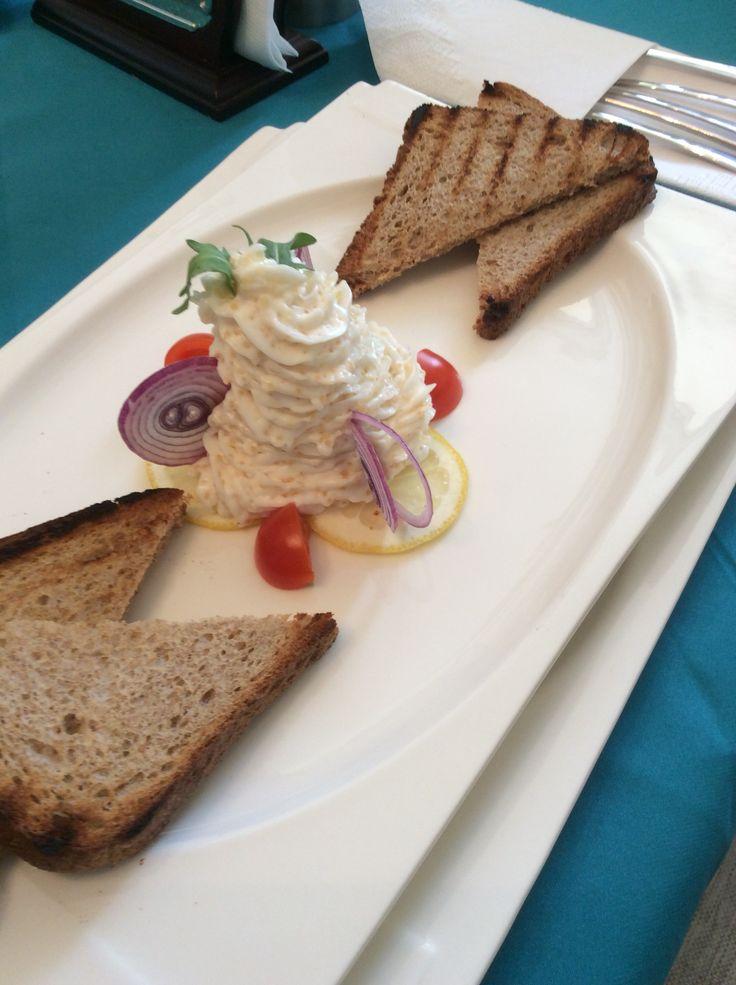 Pike caviar cream