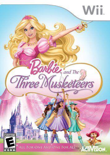 Barbie The 3 Musketeers Wii Pal Espanol Mega Descargar