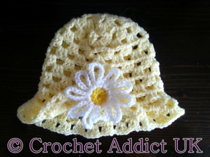 Daisy Spring Easter Hat 3-6 months