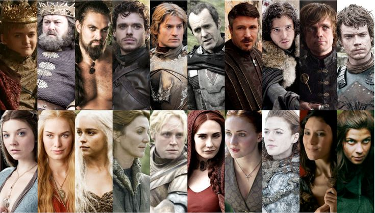 game of thrones the characters