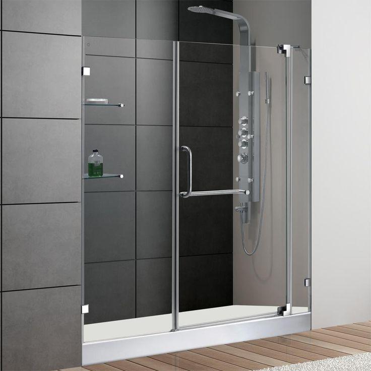 25 best ideas about cheap shower doors on pinterest for Discount frameless shower doors