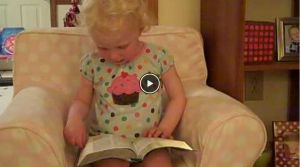 This 2 Year Old Girl Reciting Psalm 23 Will Steal Your Heart!