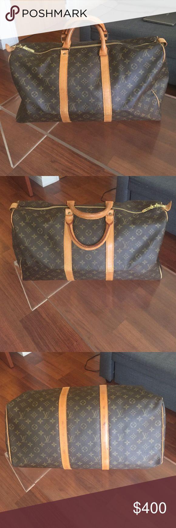 Keepall 50 Clothes design, Louis vuitton bag, Fashion design
