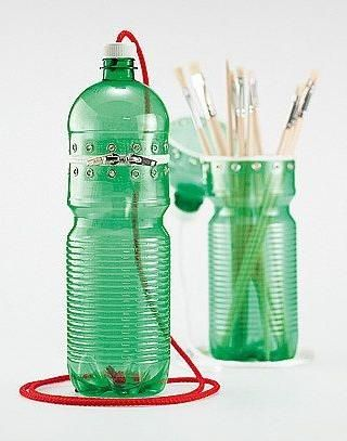 178 best images about plastic bottle on pinterest for Ways to reuse water bottles