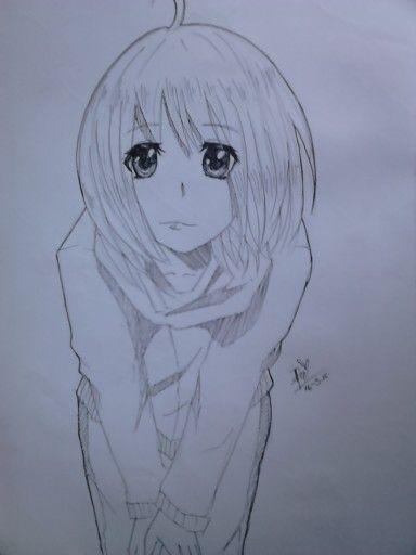 Hahahha I drew shiemi yesterday <3