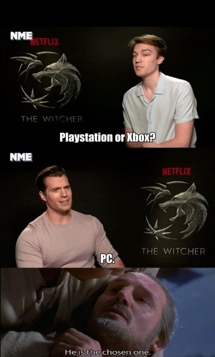 I Love How Offended Henry Is By That Question I Absolutely Agree With Him But It S Hilarious Funny Memes The Witcher Memes