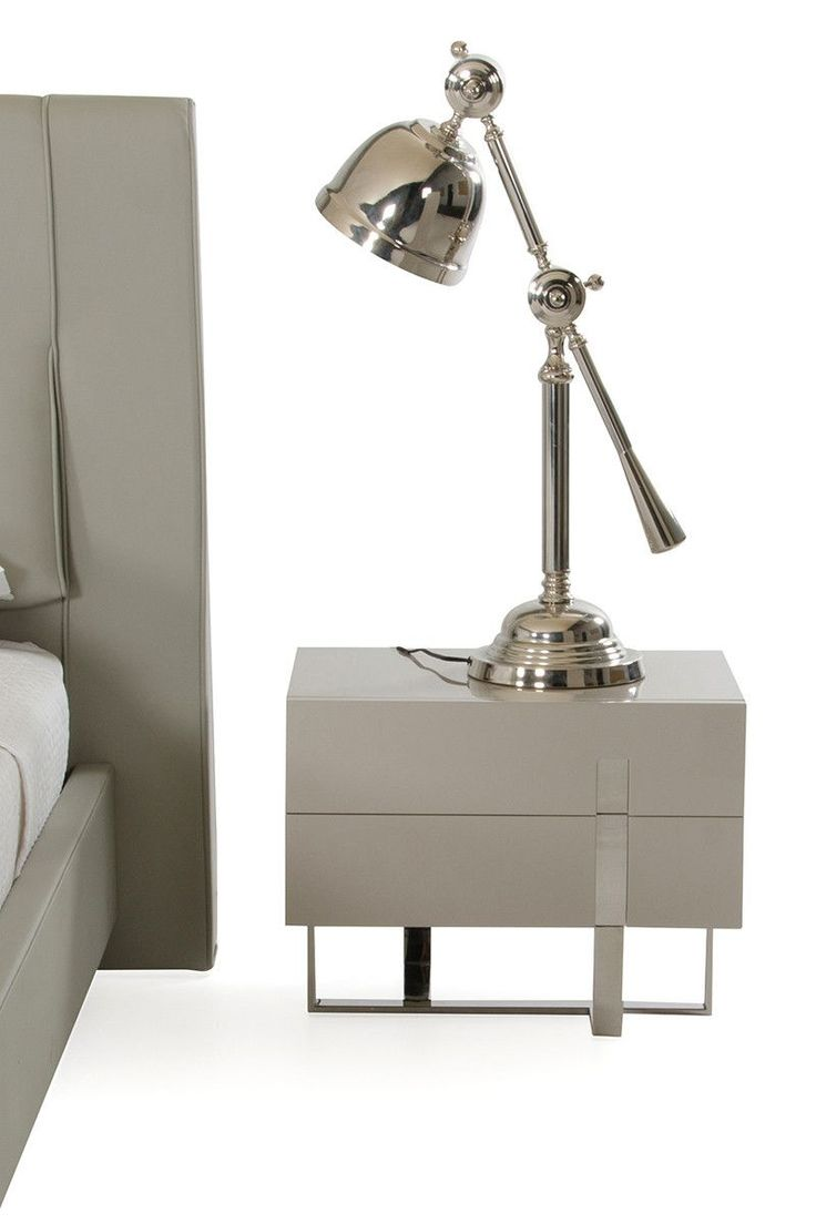 Modern Bedroom Table Lamps The 25 Best Silver Table Lamps Trending Ideas On Pinterest