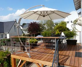 construction terrasse suspendue
