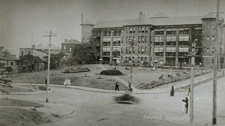 Newcastle Hospital history