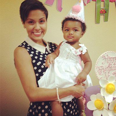 Briana of Teen Mom 3 and her adorable baby girl, Nova.