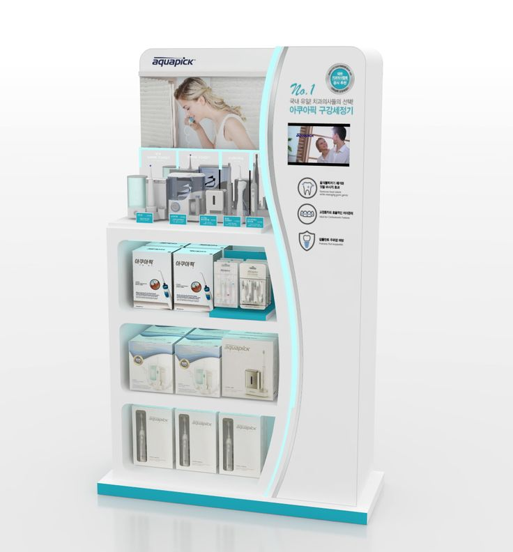 aquapic display Point of Sale | Point of Purchase Design | POP | POSM | POS…