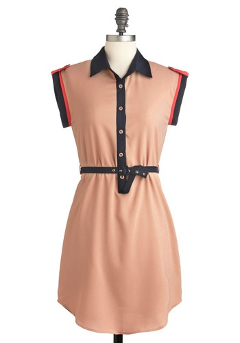 classic & flirty: Fashion, 4799 Modcloth, Style, Clothing, Casual Shirts, Retro Vintage Dresses, Colors Block, Everyday Dresses, Modcloth Campaigns Dresses