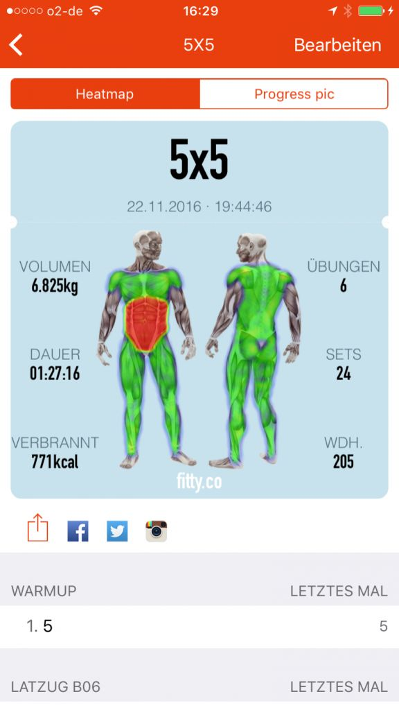 Gym Hero – Meine Krafttrainings App   Rennrad-Hamburg