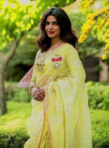 Miss Priyanka Chopra at the Padma Shri 2016