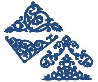 Tattered Lace - Dies - Doilies Corners