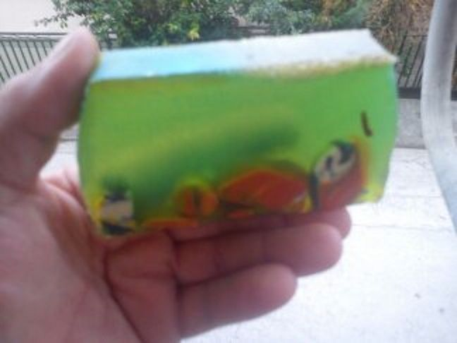 The beauty of the Mediterranean sea HP soap