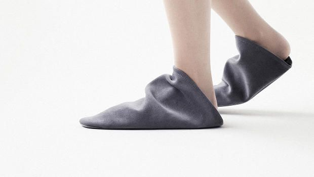 Nendo's New Slippers Look Like They Were Stolen From Garden Gnomes   But they're actually a smart solution to having too many house slippers for guests.  Throughout Asia it's common to take off your shoes and put on slippers provided by the host when you enter a private dwelling. That conceivably means they have as many slippers lying around their home as they have guests leading to sprawling cluttered slipper racks in otherwise orderly Japanese homes.  Read Full Story http://ift.tt/1GIIg4I