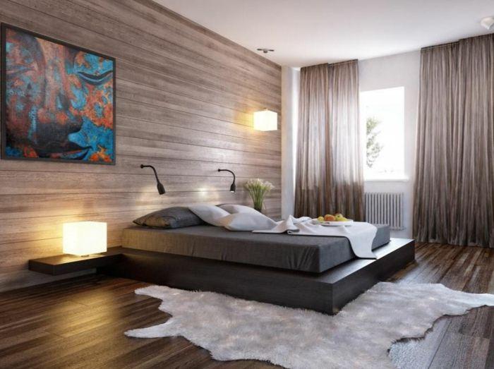 Schlafzimmer ideen wandgestaltung holz  Die besten 25+ Holzverkleidung innen Ideen auf Pinterest | Altholz ...