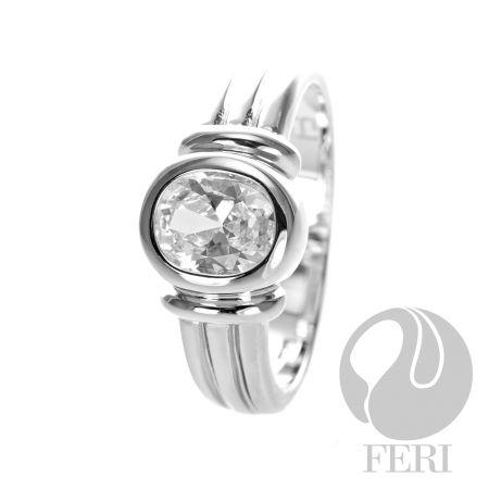 FERI Oval CZ - Ring