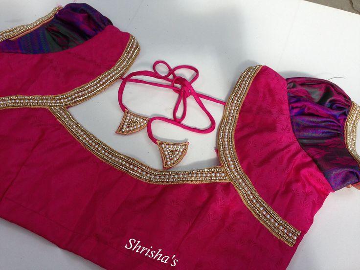 Shrishas Fashion Designer. Contact : 098946 14882.  26 August 2016