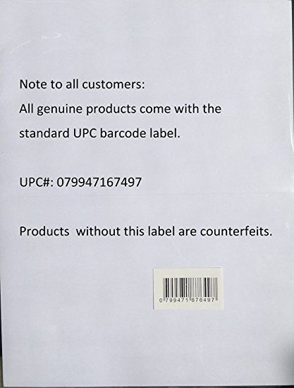 Amazon.com : Half Sheet Self Adhesive Shipping Labels for Laser & Inkjet Printers, 200 Count (BL-G8511-100) : Printer Labels : Office Products
