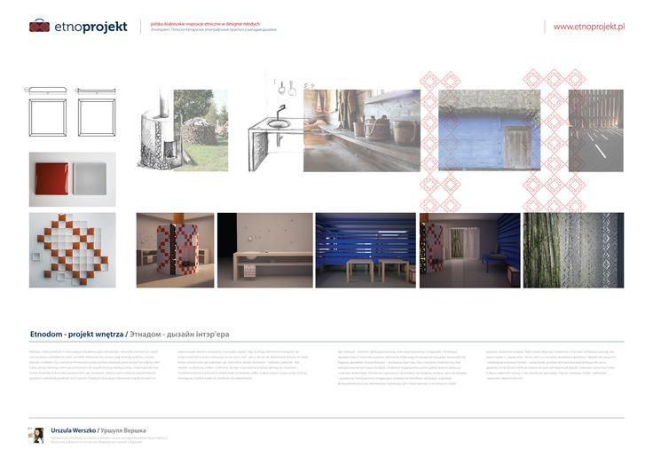 Etnodom - projekt wnętrza by Urszula Werszko