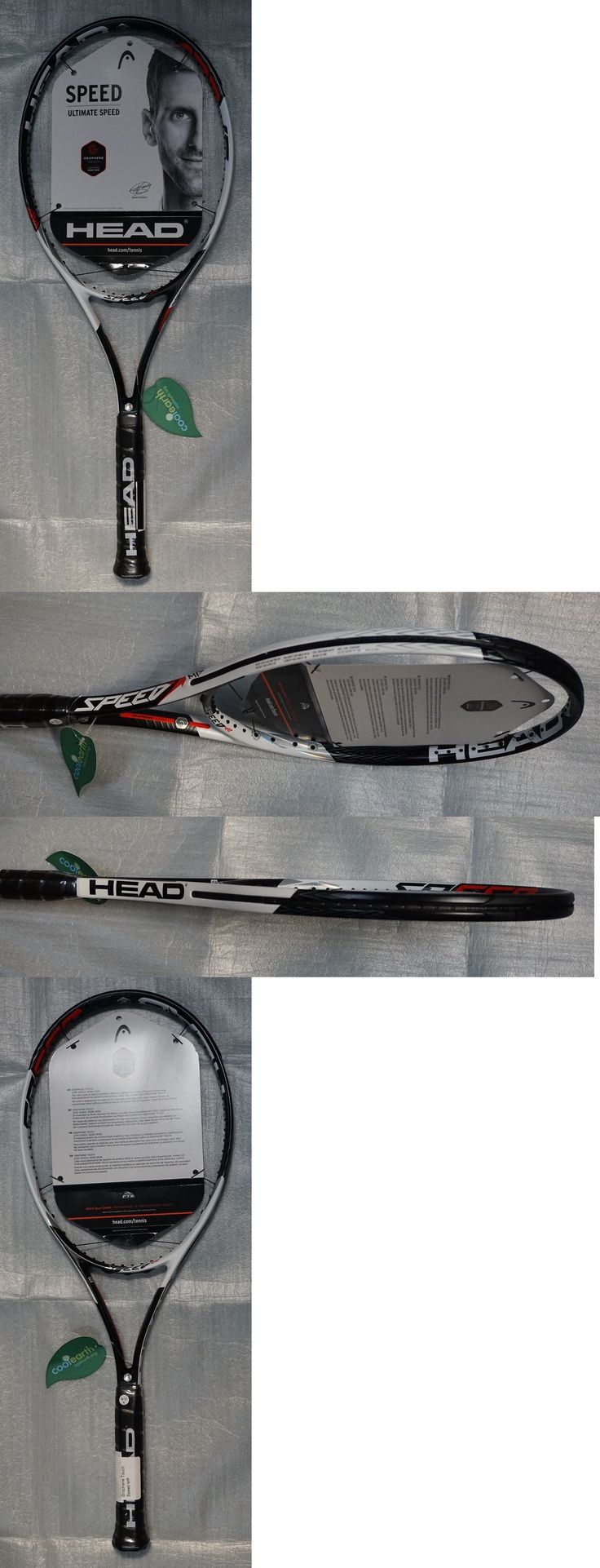 Racquets 20871: New Head Graphene Touch Speed Mp 4 3 8 Tennis Racquet Racket Djokovic 2016 -> BUY IT NOW ONLY: $209.99 on eBay!