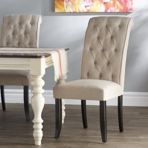 This Arrives At The Table With The Full Scale Comfort Of A Favorite Living Room Chair Classic Upholstered Dining Chairs Dining Chairs Solid Wood Dining Chairs #side #chairs #with #arms #for #living #room