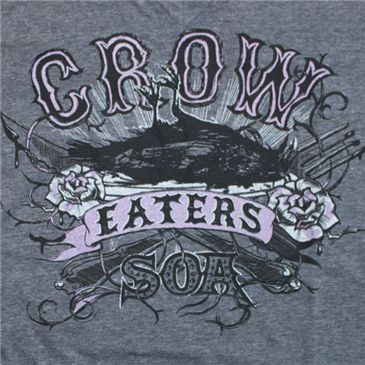 sons of anarchy crow eater logos | ... sons of anarchy sons of anarchy image juniors crow eater t shirt grey