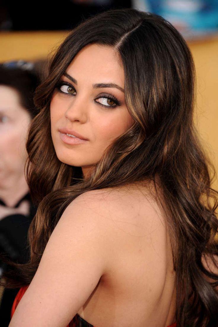 : Hair Colors, Milakunis, Mila Kunis, Hair Makeup, Hairstyle, Hair Style, Beauty, Eye