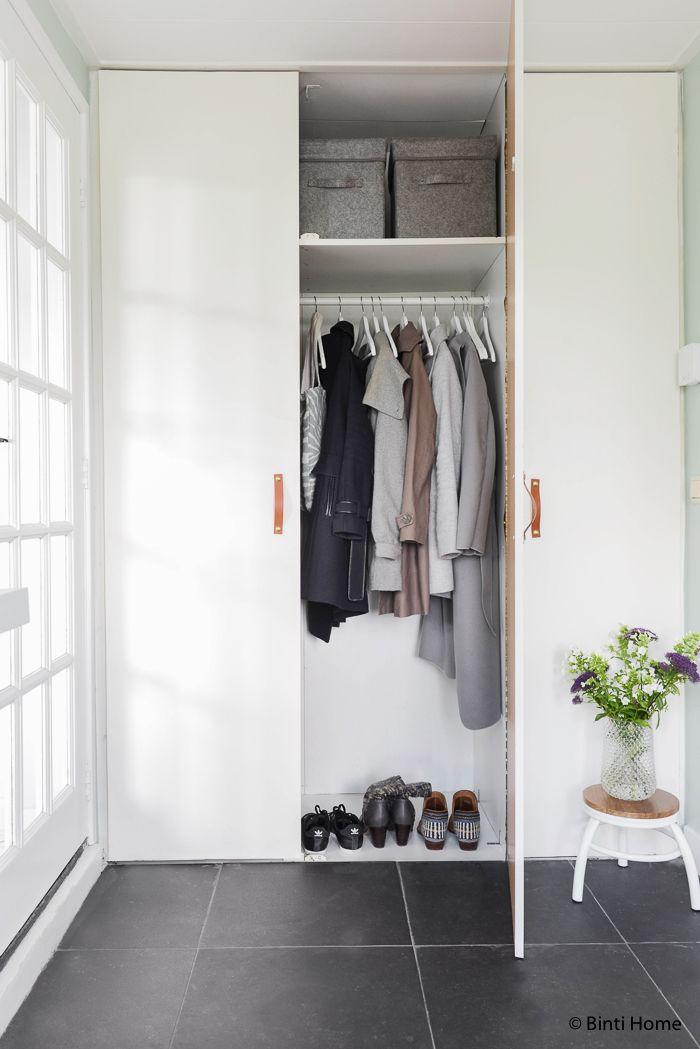 17 beste idee n over hal kast op pinterest logeerkamers logeerkamers en gangkast organisatie - Schilderen voor entree en hal ...
